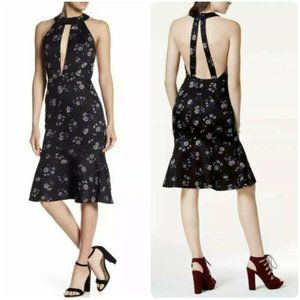 Endless Rose Nightshade Floral Halter Dress - NWOT